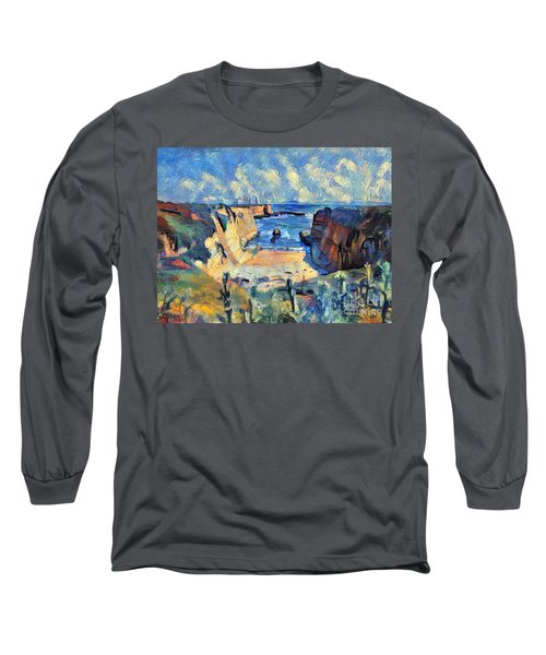 Wilder Ranch Trail Long Sleeve T-Shirt by Denise Deiloh