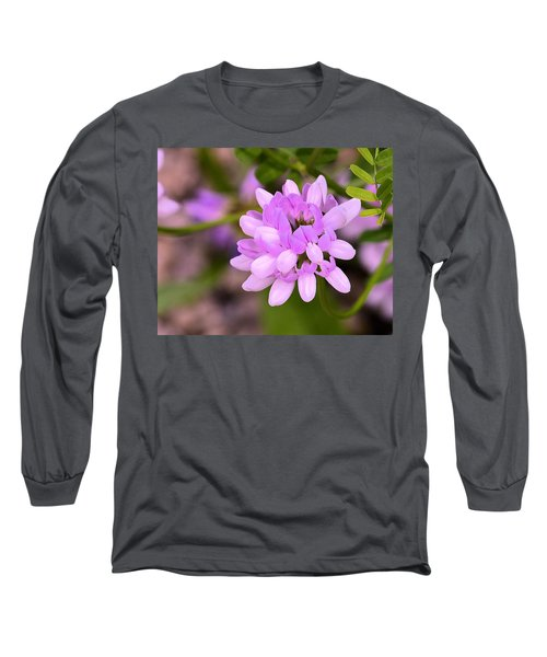 Wildflower Or Weed Long Sleeve T-Shirt by Kathy Eickenberg