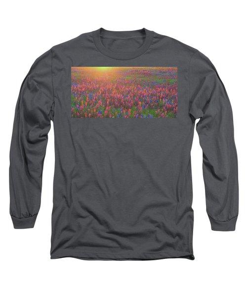 Wildflowers In Texas Long Sleeve T-Shirt
