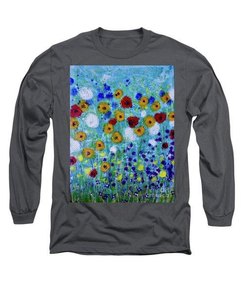 Wildflowers Never Fade Long Sleeve T-Shirt