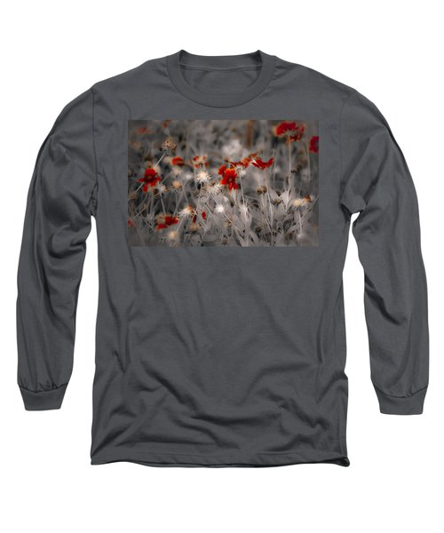Wildflowers Of The Dunes Long Sleeve T-Shirt