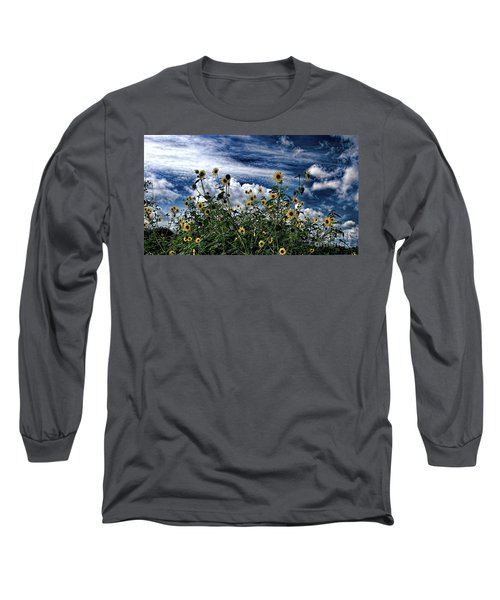 Wildflowers On The Brazos Long Sleeve T-Shirt
