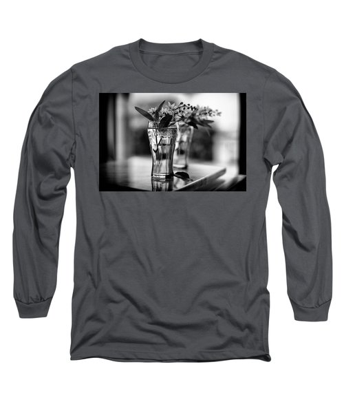 Long Sleeve T-Shirt featuring the photograph Wildflowers Still Life by Laura Fasulo