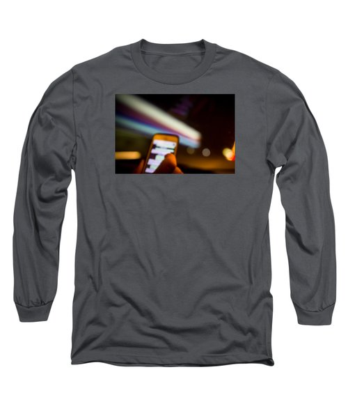 Will Be At Home In 5 Minutes Long Sleeve T-Shirt by Cesare Bargiggia