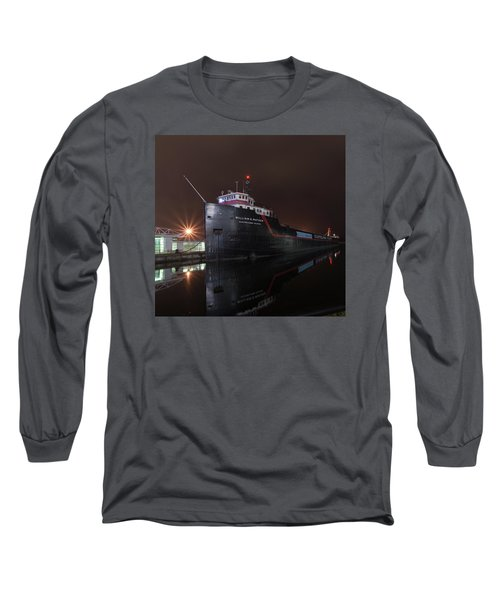 William G Mather At Night  Long Sleeve T-Shirt