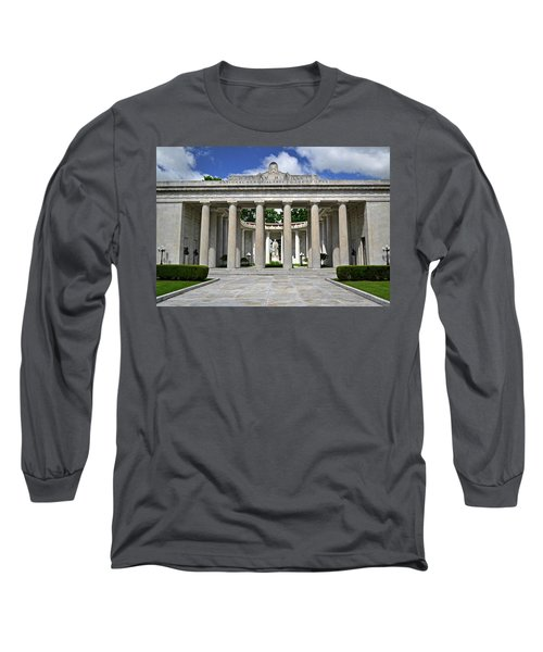 Long Sleeve T-Shirt featuring the photograph William Mckinley Memorial 003 by George Bostian