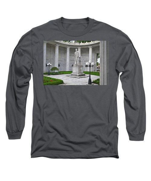 Long Sleeve T-Shirt featuring the photograph William Mckinley Memorial 004 by George Bostian