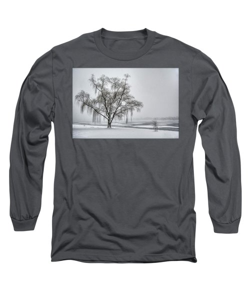 Willow In Blizzard Long Sleeve T-Shirt
