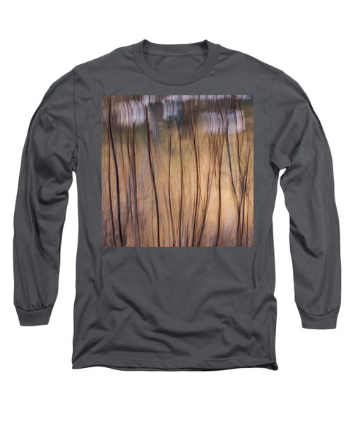 Willows In Winter Long Sleeve T-Shirt