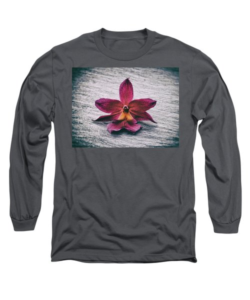 Wilting Orchid  Long Sleeve T-Shirt