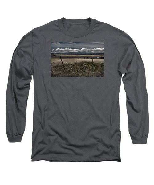 Wind Blown Plains Long Sleeve T-Shirt