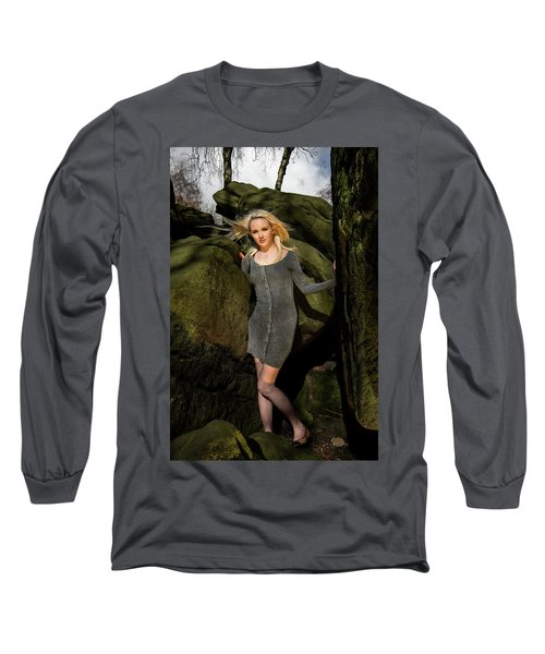 Wind In Her Hair Long Sleeve T-Shirt