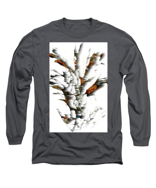 Long Sleeve T-Shirt featuring the painting Wind Series 05.072311windblastscvss by Kris Haas