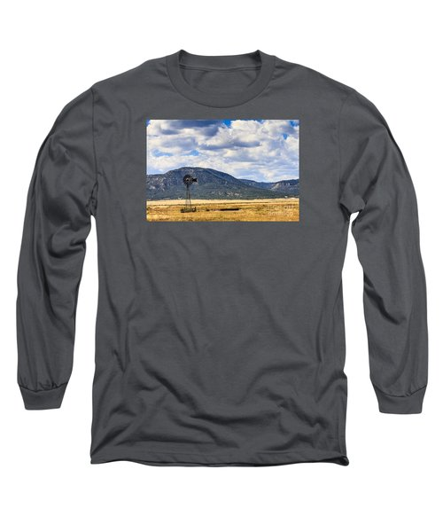 Windmill New Mexico Long Sleeve T-Shirt