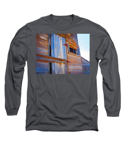 Long Sleeve T-Shirt featuring the photograph Window 3 by Susan Kinney