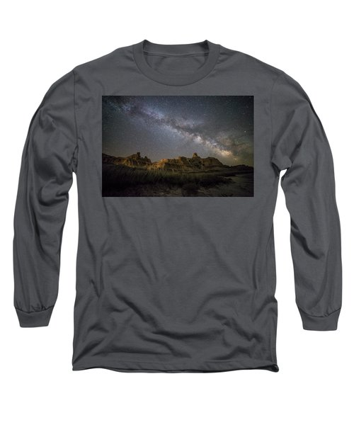 Long Sleeve T-Shirt featuring the photograph Window by Aaron J Groen