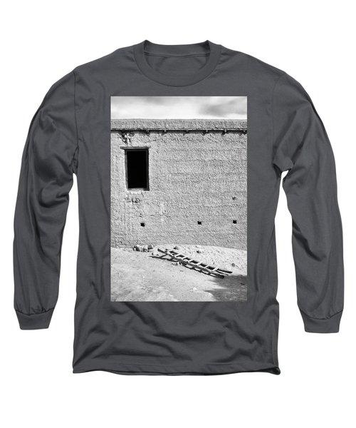 Window And Ladder, Shey, 2005 Long Sleeve T-Shirt