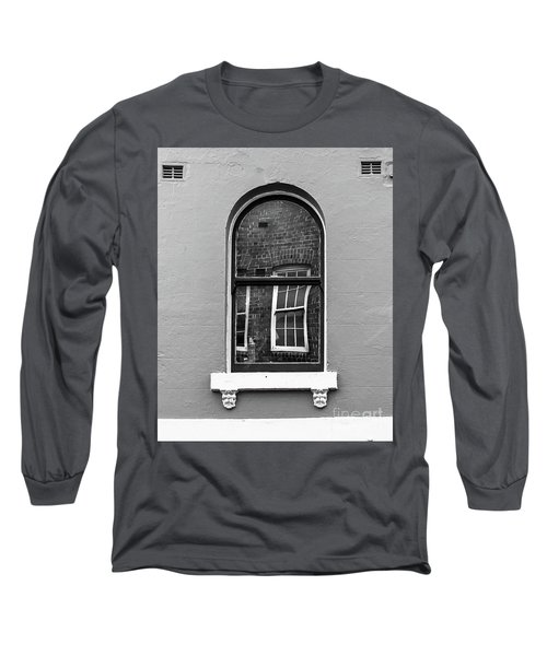 Long Sleeve T-Shirt featuring the photograph Window And Window by Perry Webster