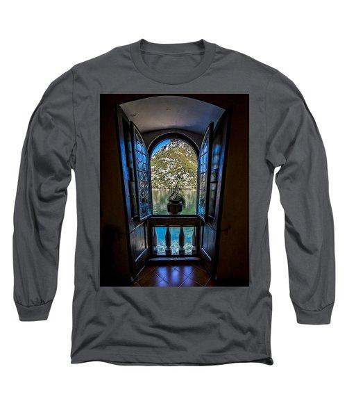 Window To The Lake Long Sleeve T-Shirt