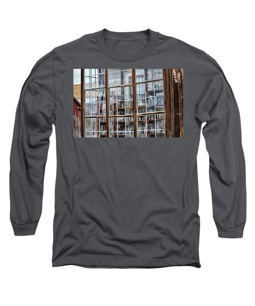 Window To The Past Long Sleeve T-Shirt by AJ Schibig
