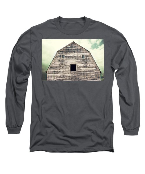 Window To The Soul Long Sleeve T-Shirt by Julie Hamilton