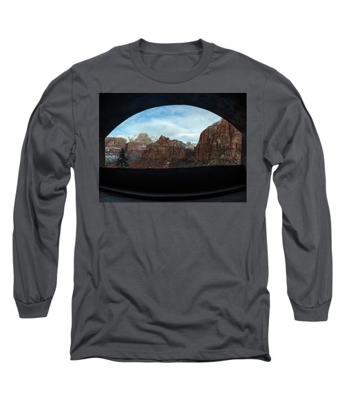 Window To Zion Long Sleeve T-Shirt