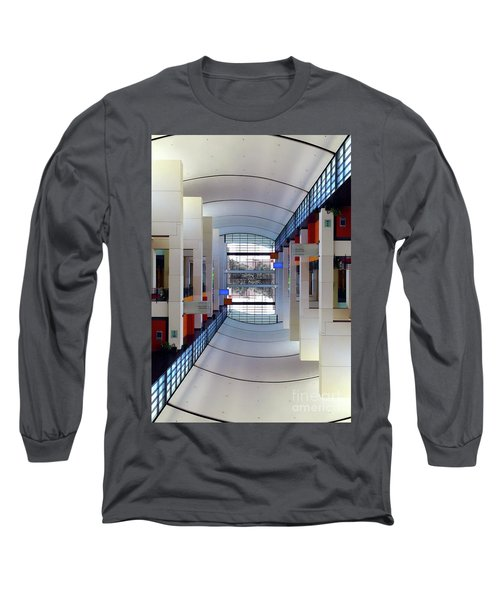 Long Sleeve T-Shirt featuring the photograph Windows by Brian Jones