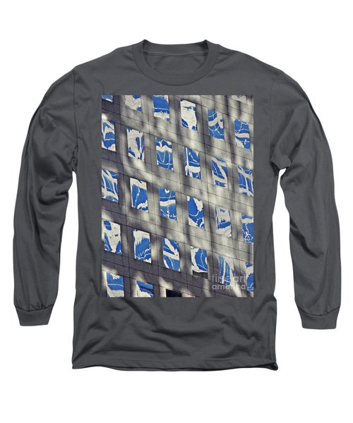 Long Sleeve T-Shirt featuring the photograph Windows Of 2 World Financial Center 3 by Sarah Loft