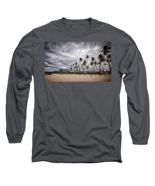 Windy Beach Long Sleeve T-Shirt