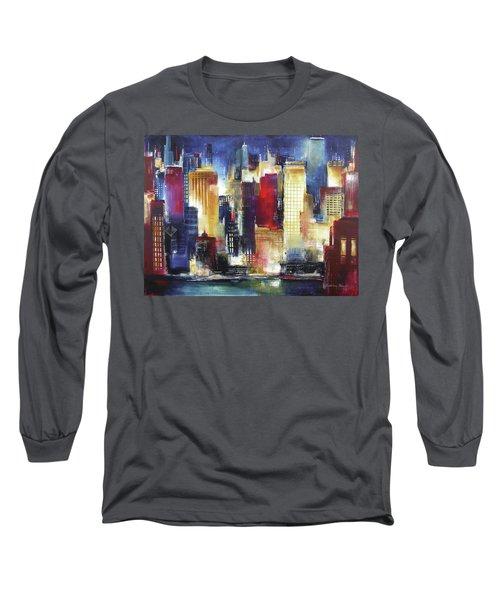 Windy City Nights Long Sleeve T-Shirt