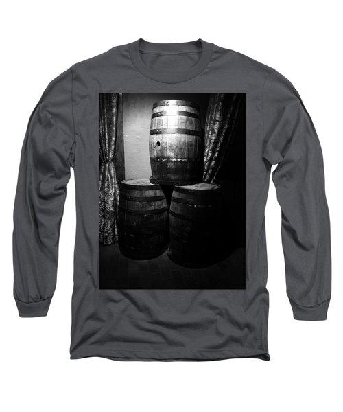 Wine Barrels Long Sleeve T-Shirt