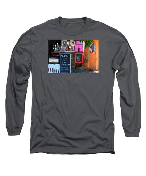 Long Sleeve T-Shirt featuring the photograph Wine Cellar by Richard Patmore