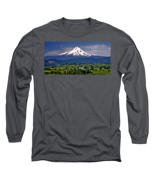 Wine Country Long Sleeve T-Shirt by Scott Mahon