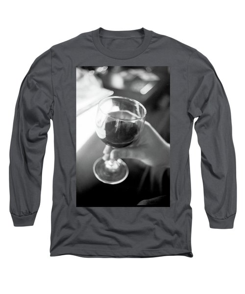 Wine In Hand Long Sleeve T-Shirt