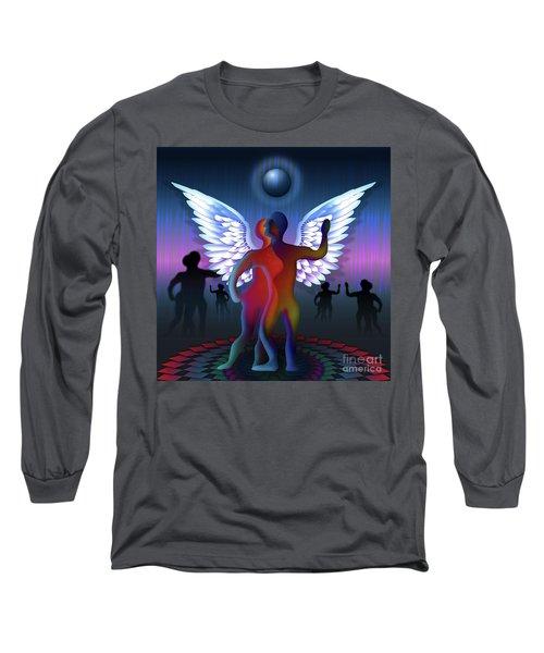 Winged Life Long Sleeve T-Shirt