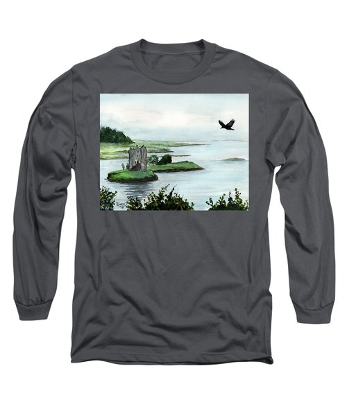 Winging Over Stalker Long Sleeve T-Shirt