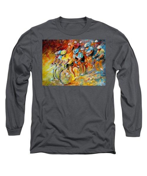 Winning The Tour De France Long Sleeve T-Shirt