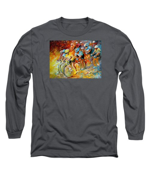 Winning The Tour De France Long Sleeve T-Shirt