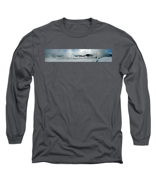 Winter At Grand Prismatic Long Sleeve T-Shirt
