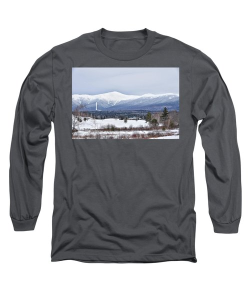 Winter At Mount Washington Long Sleeve T-Shirt
