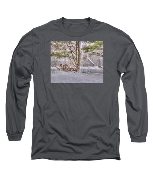 Winter At The Woods Long Sleeve T-Shirt