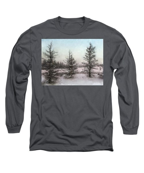 Winter Begins Long Sleeve T-Shirt