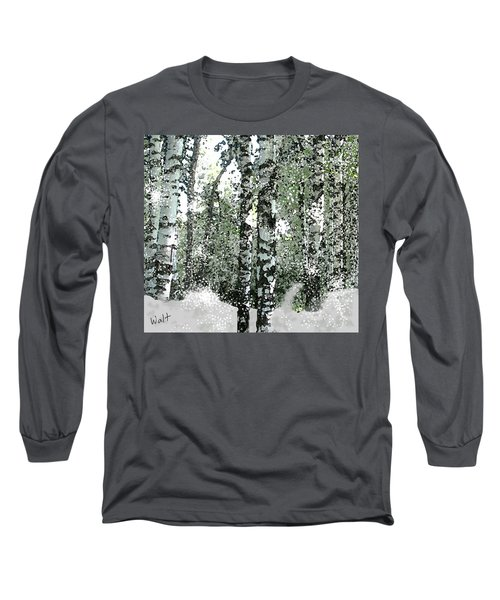 Winter Birches Long Sleeve T-Shirt