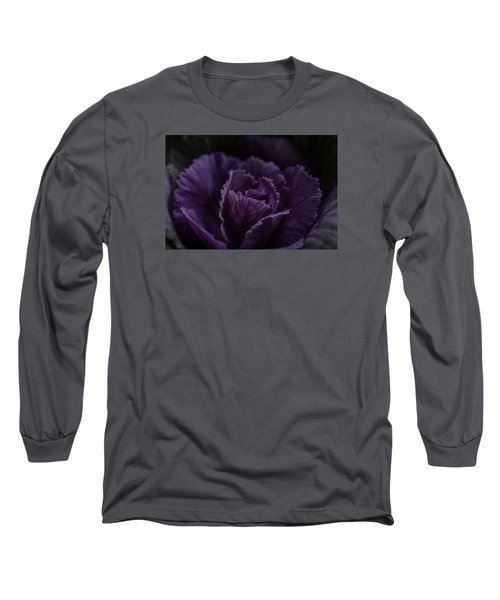 Winter Cabbage Long Sleeve T-Shirt by Cathy Donohoue