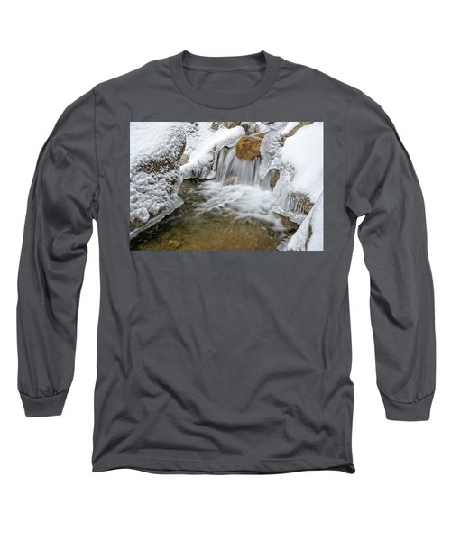 Winter Cascade Nh Long Sleeve T-Shirt