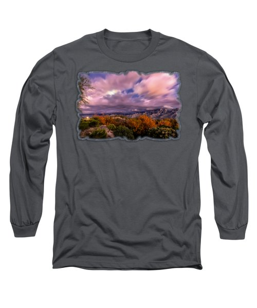 Winter Colors 25 Long Sleeve T-Shirt by Mark Myhaver