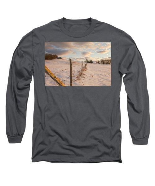 Winter Countryside Long Sleeve T-Shirt