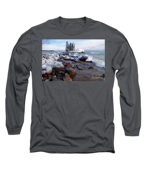 Winter Delight Long Sleeve T-Shirt by Sandra Updyke