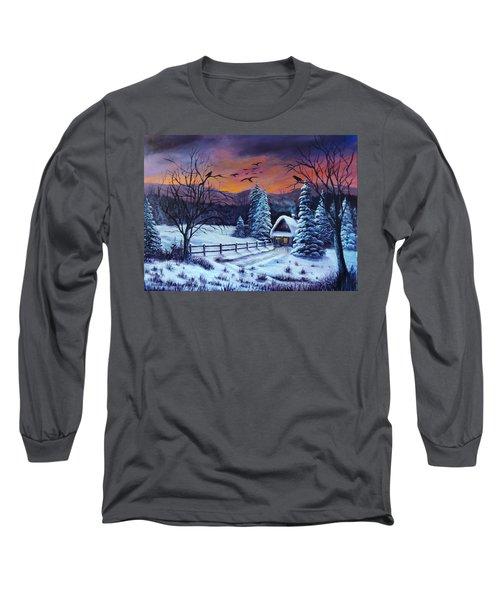 Winter Evening 2 Long Sleeve T-Shirt