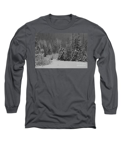 Long Sleeve T-Shirt featuring the photograph Winter Fairy Tale by Yulia Kazansky